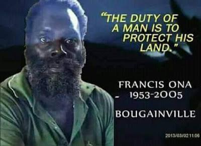 Songsong referendum Bougainville 2019
