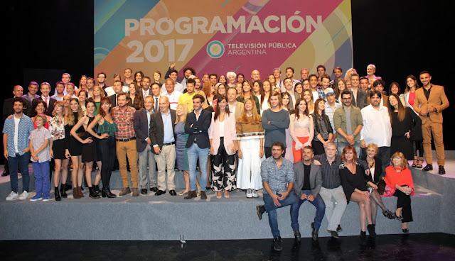 Televisión Pública Argentina presentó su Programación 2017