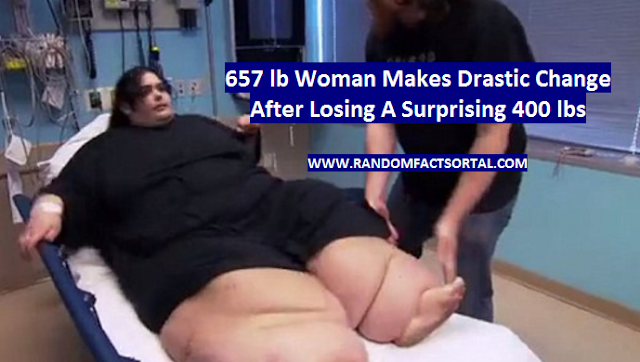 657 lb Woman Makes Drastic Change After Losing A Surprising 400 lbs