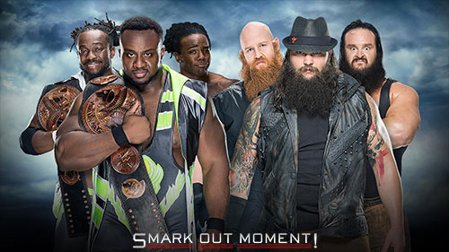 WWE Battleground 2016 Wyatt Family vs New Day