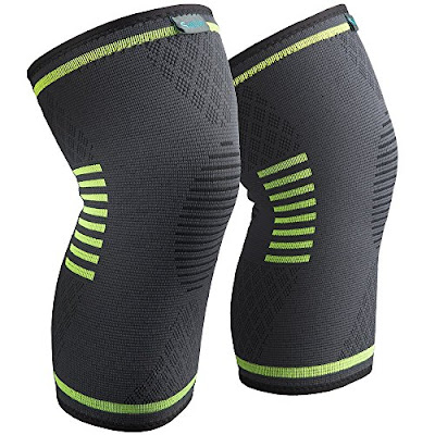 Sable Recovery Knee Brace - Sports Compression Support Pads