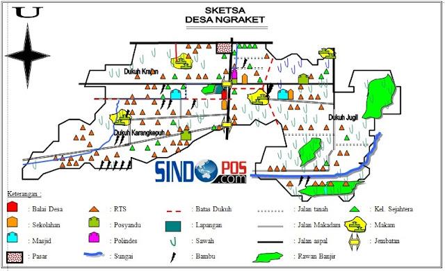 Profil Desa & Kelurahan, Desa Ngraket Kecamatan Balong Kabupaten Ponorogo