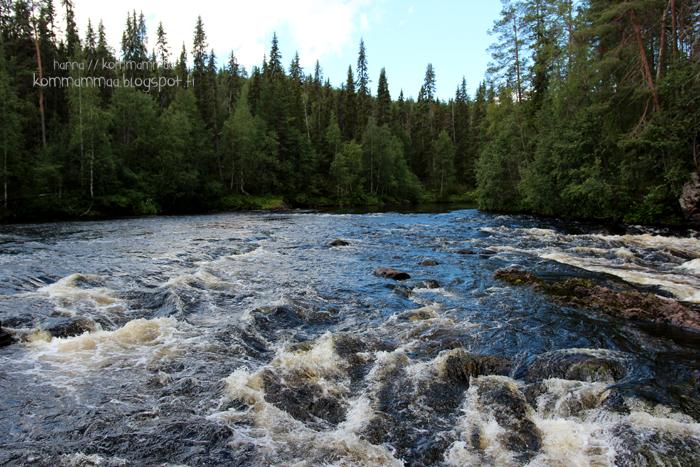 kiutaköngäs kuusamo käylä oulanka kansallispuisto