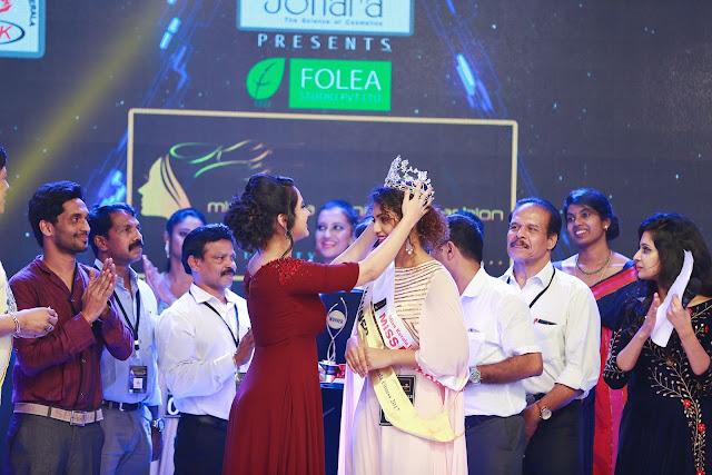 Noorin Shereef  won Miss Kerala 2017 Miya George