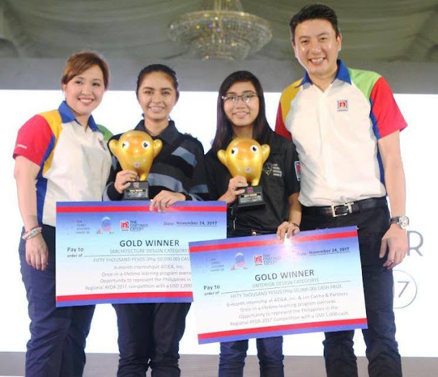 Nippon Paint  Philippines  Asia Young Designer Award 2017 (AYDA) Winners
