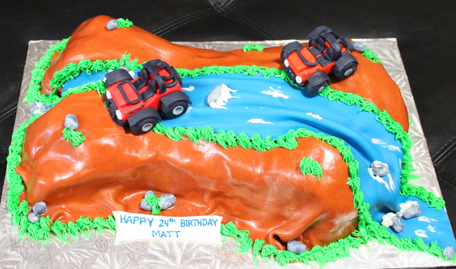 How To Make Off Roading Cake
