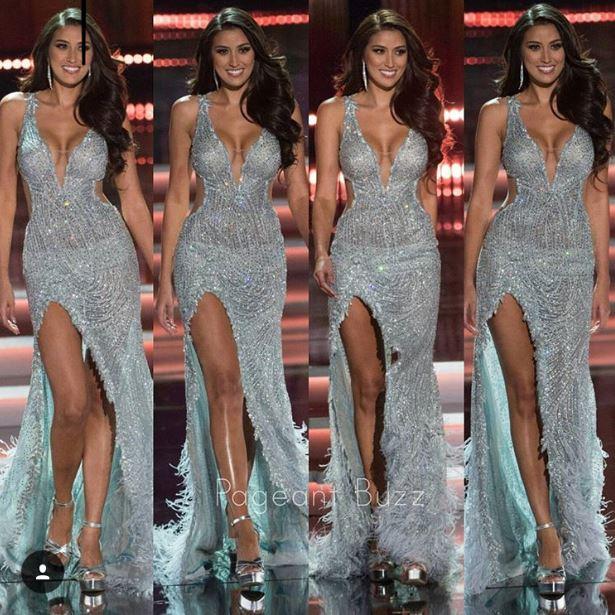 Rachel Peters long gown