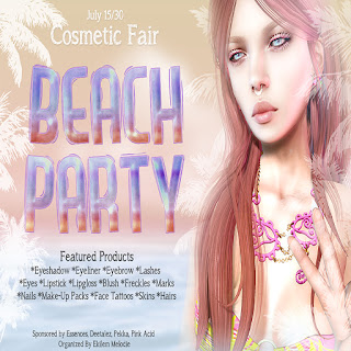 Cosmetic Fair: Beach Party