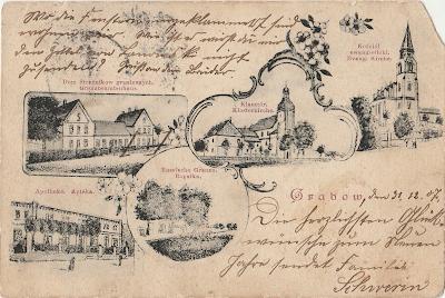 pocztówka grabów nad prosną 1907 r.