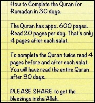 ramadan 30 days quotes