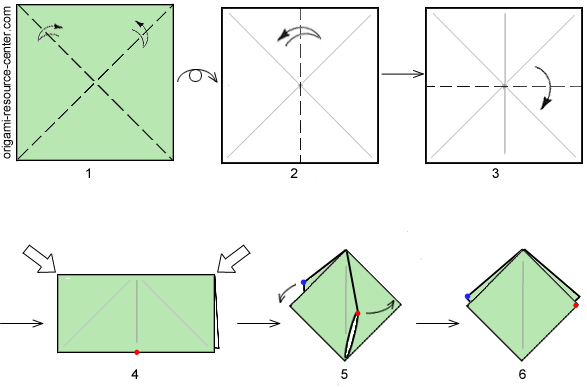 Origami Frog Step By Step Video