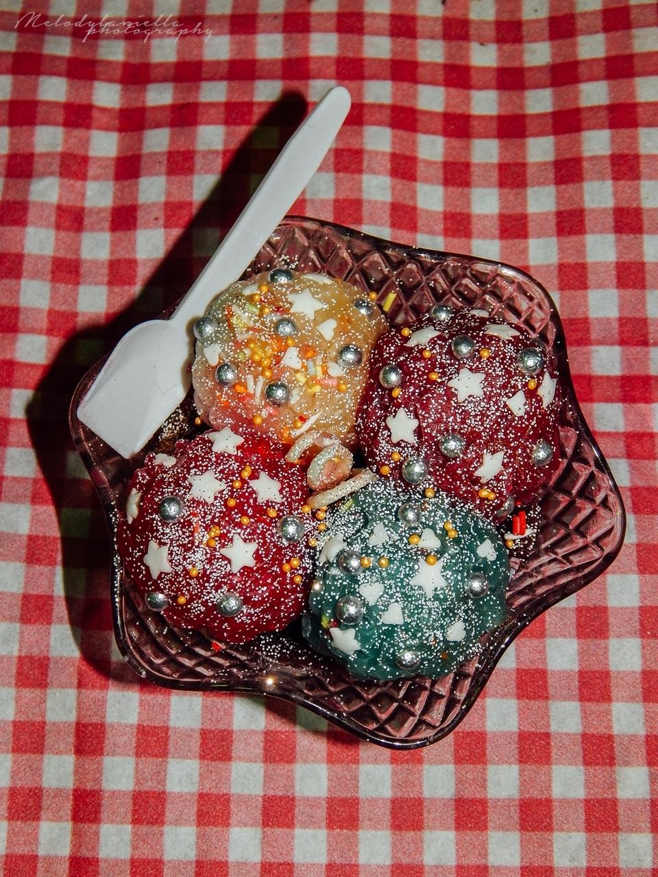 świeczki w kształcie lodów pomysły na świąteczny prezent prezenty