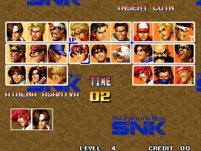 街機-拳皇94、95、96(KOF格鬥天王)+作弊碼金手指下載,SNK骨灰格鬥遊戲!