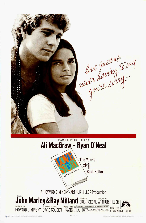 EARLY '70S RADIO: Chart Song Cinema: Love Story (1970)