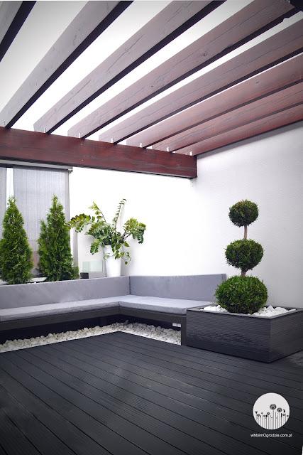 nowoczesny ogród projekt