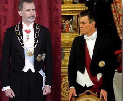 Pedro Sánchez frac