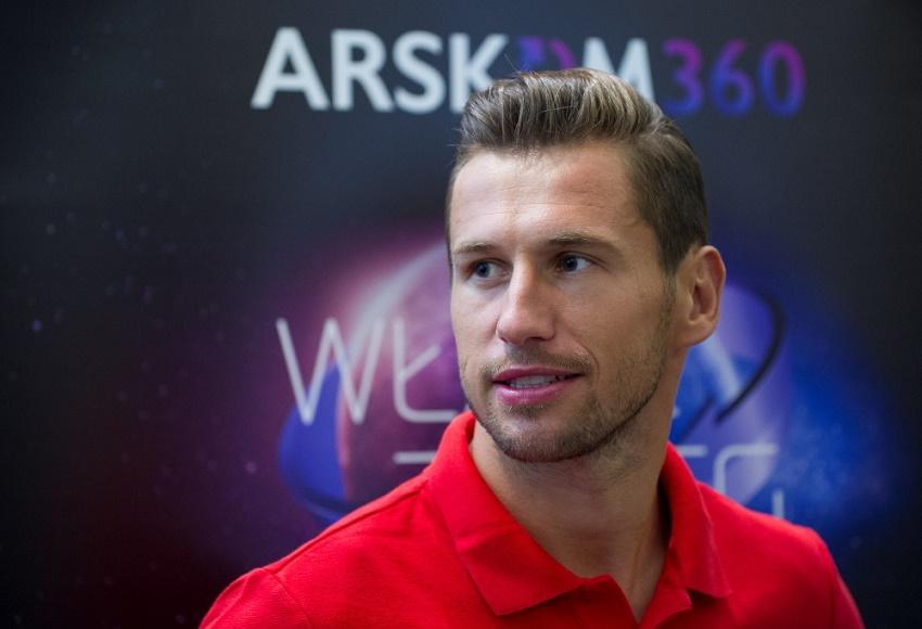 Grzegorz Krychowiak - fot. materiały organizatora Arskom Group