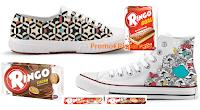 Logo Ringo e Carrefour ti regalano le scarpe personalizzate