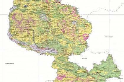 Peta Kabupaten Ciamis | Provinsi Jawa Barat