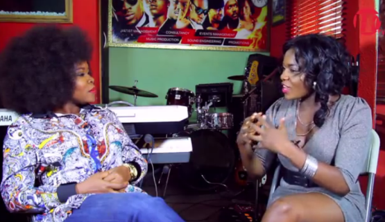 Omawumi Angrily Storms Out Of HFtv Over Sm0king & Dr!nking Habit Questions (Video)