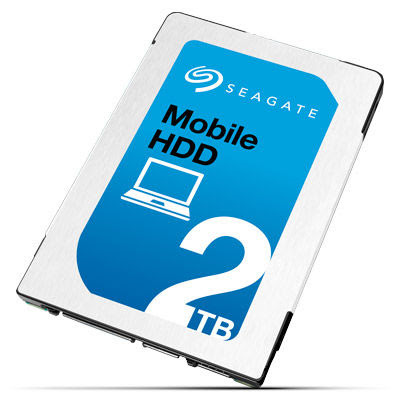 Seagate Now Shipping 2.5-inch 2TB 7mm HDD