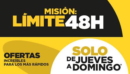 Top 15 ofertas Misión Límite 48 horas El Corte Inglés