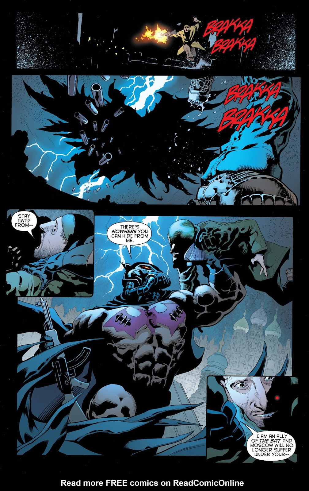 Read online Batman and Robin (2011) comic -  Issue # _Bad Blood (DC Essential Edition) (Part 1) - 7