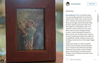 Foto Kebaya Kartini Artis Cantik Dian Sastro AADC Cantik dan Anggun