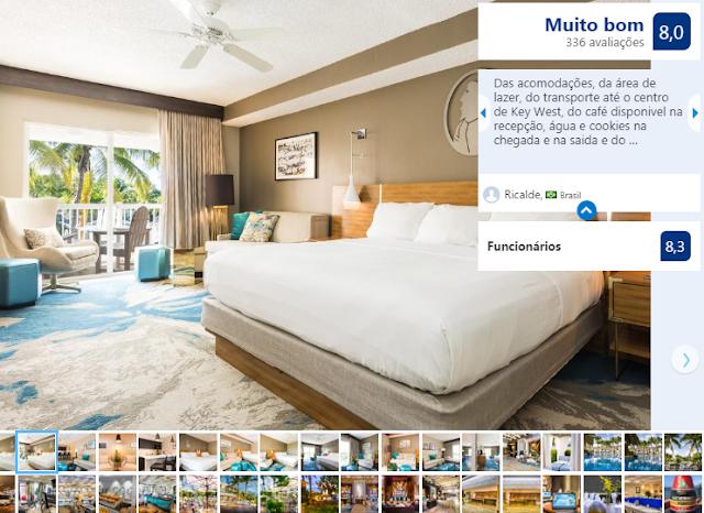 Quarto do DoubleTree Resort by Hilton Hotel Grand Key West