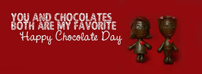 Cute Happy Chocolate Day 2017 Cover Facebook Photos Pics