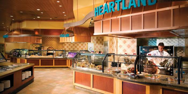 Restaurante Fresh Market Square Buffet em Laughlin