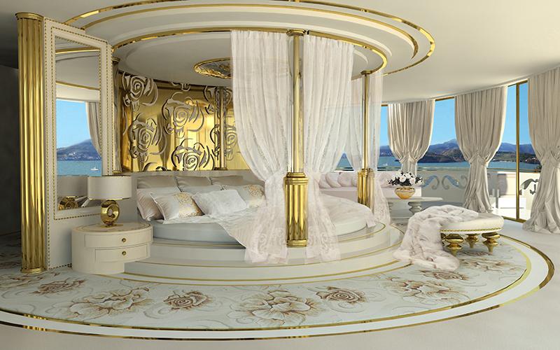 10 mẫu phòng ngủ phong cách Royal sang trọng và đẳng cấp nhất8