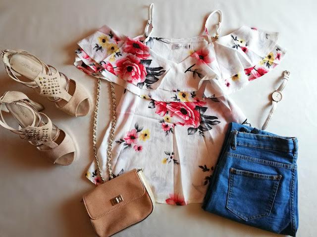 blog, dresslily, floral, top, recenzija, review, instagood, instamood - kopija