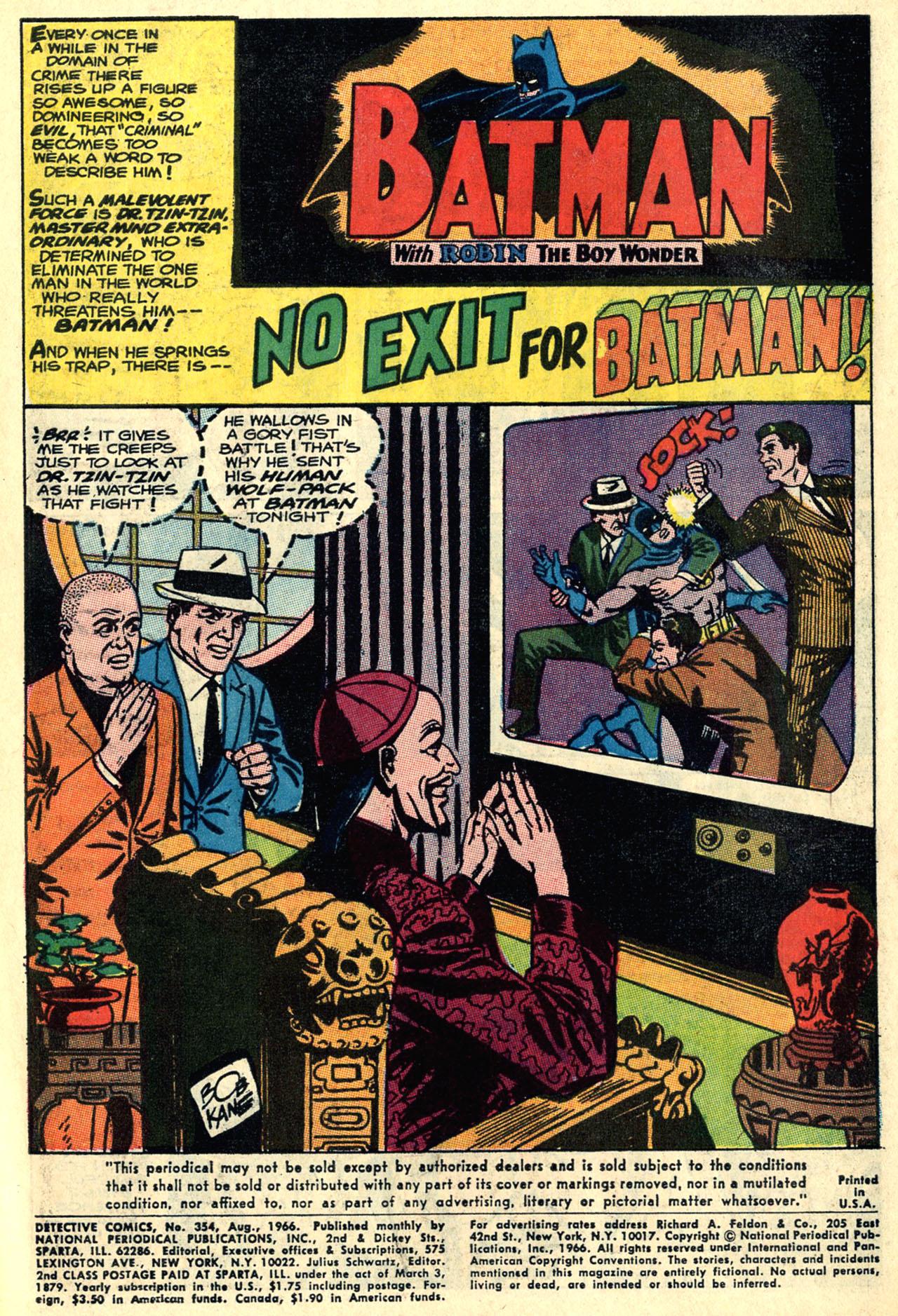 Detective Comics (1937) 354 Page 2