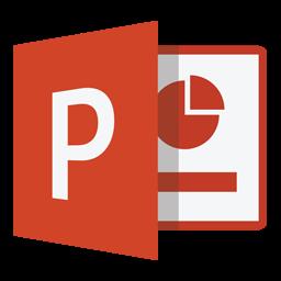Power Point 2013 Folder Icon
