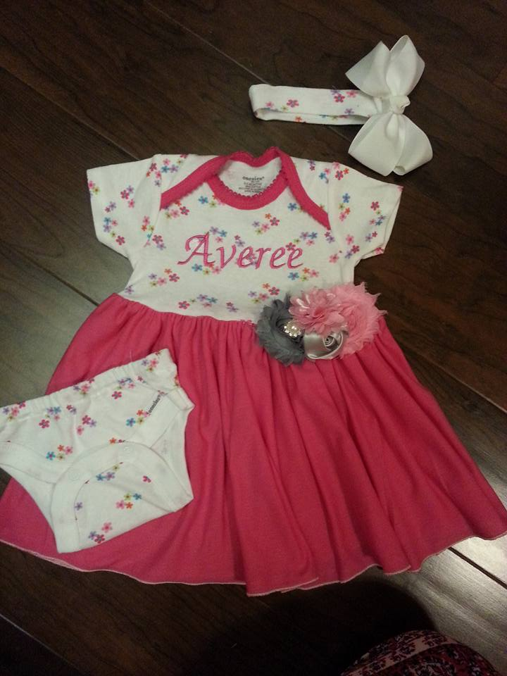 Create Kids Couture: 3-Piece Set Upcycled from a Onesie