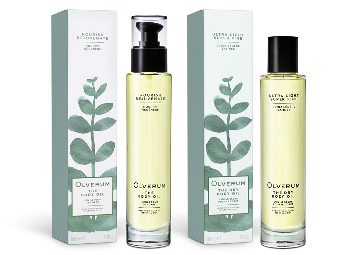 Olverum Body Oil and Dry Body Oil