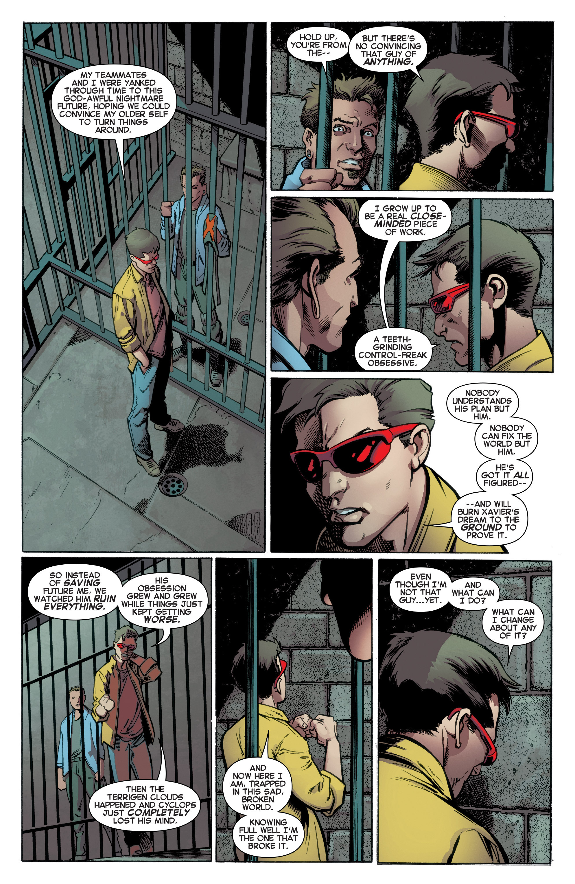 Read online All-New X-Men (2016) comic -  Issue #2 - 20