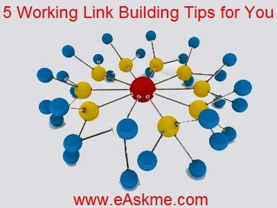 5 Working Link Building Tips for You : eAskme