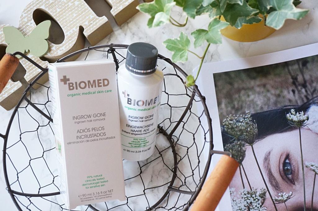 Biomed Organics Ingrow Gone - preparat na wrastające włoski po depilacji