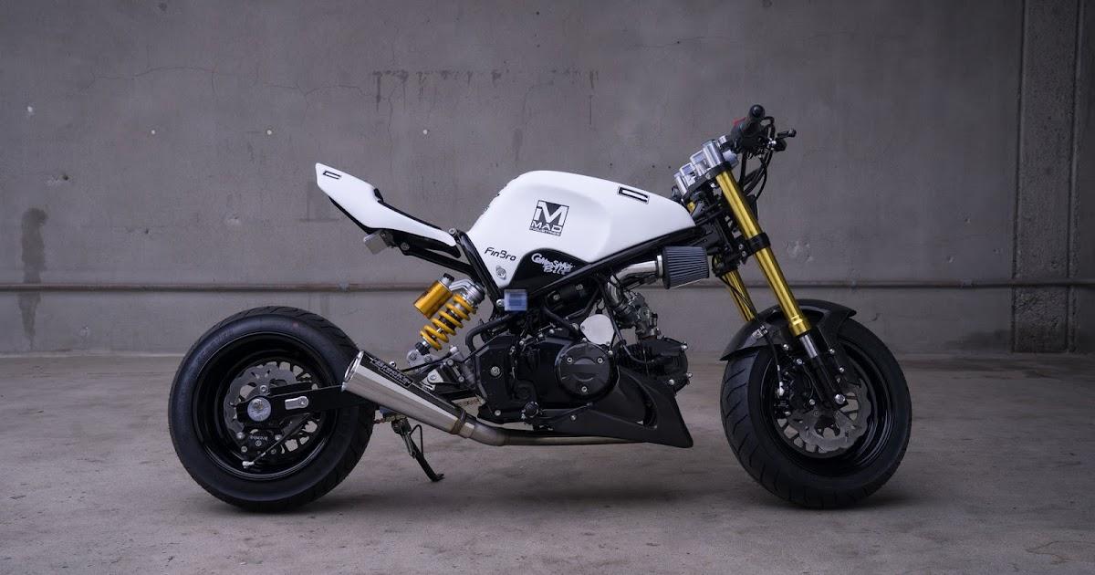Honda grom composimo mad rocketgarage cafe racer for Honda grom scrambler kit