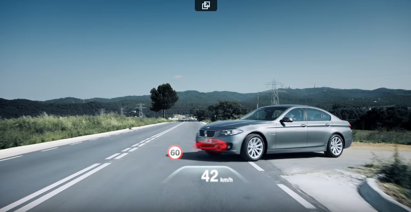 Preview: The all new BMW 5 Series. Driving Assistance Systems.
