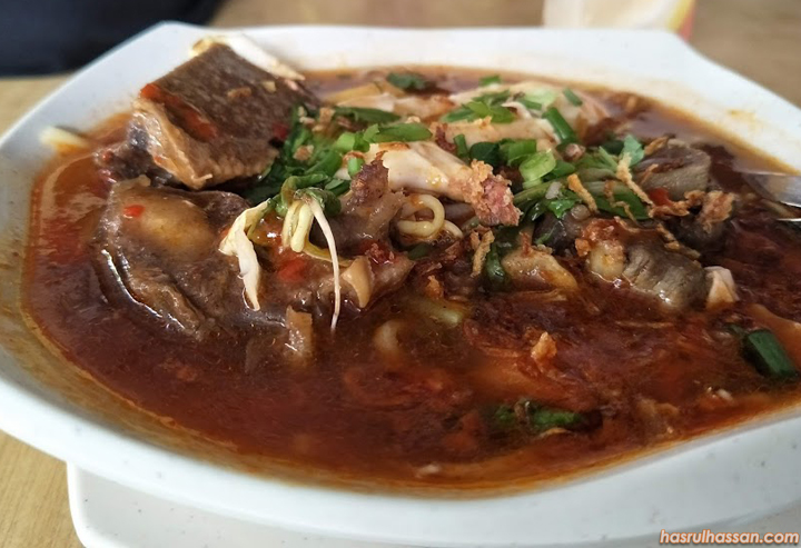 Mee Bandung Tulang Kedai Makan D'Bukit, Taiping
