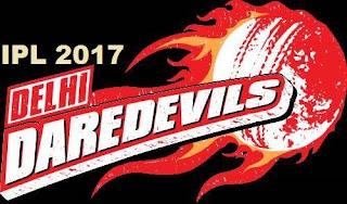 Delhi Daredevils (DD) IPL 2017 Team Squad, Players, Playing XI Team Squad