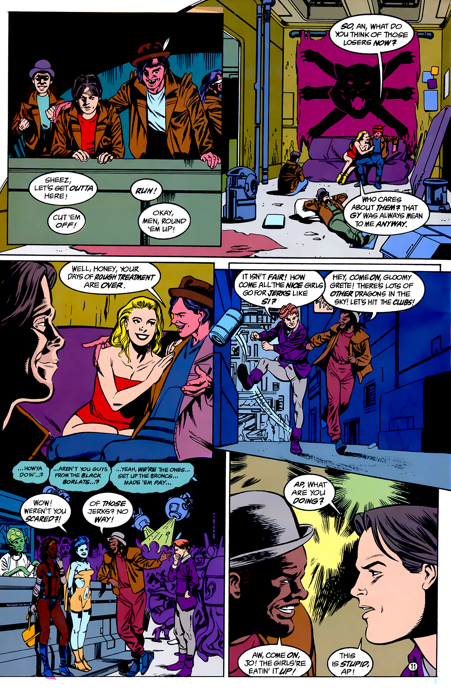 Legion of Super-Heroes (1989) _Annual_1 Page 11