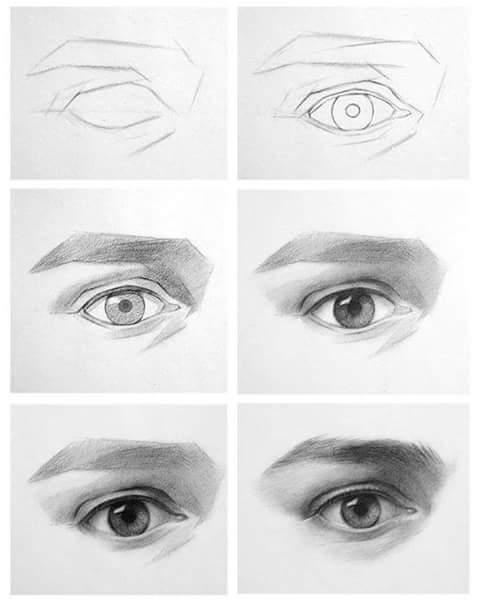 مدونة أرسم بالرصاص تعليم الرسم بالصور رسم احترافي بالخطوات