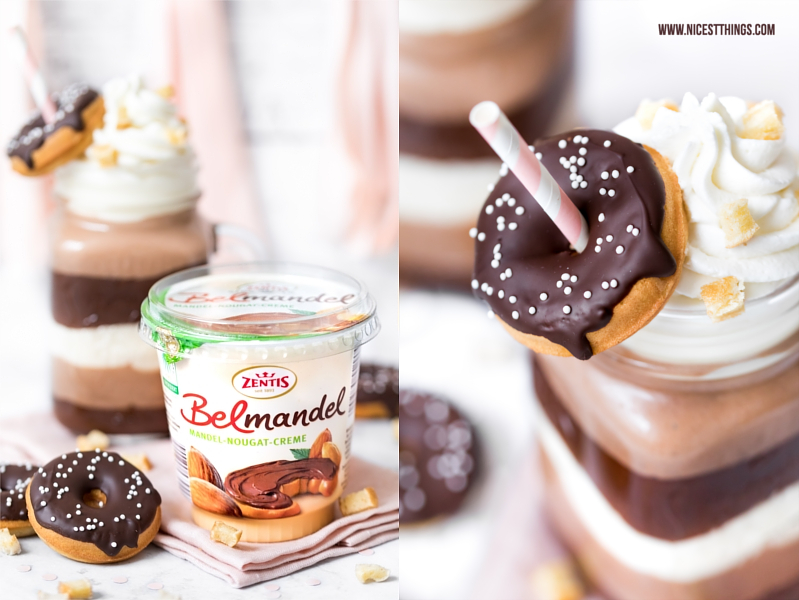 Zentis Belmandel Rezept Donut Shake