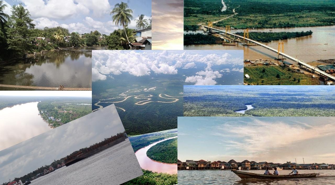 11 Sungai Besar di Kalimantan Tengah