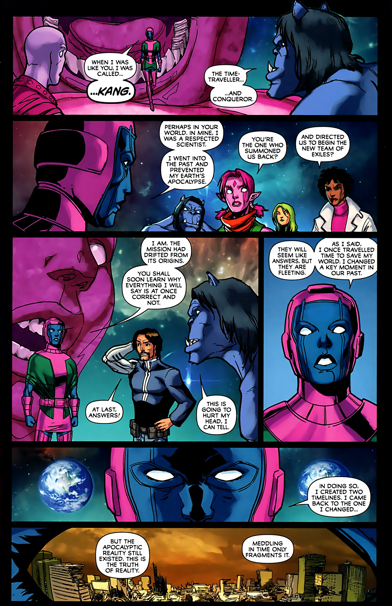 Read online Exiles (2009) comic -  Issue #6 - 30