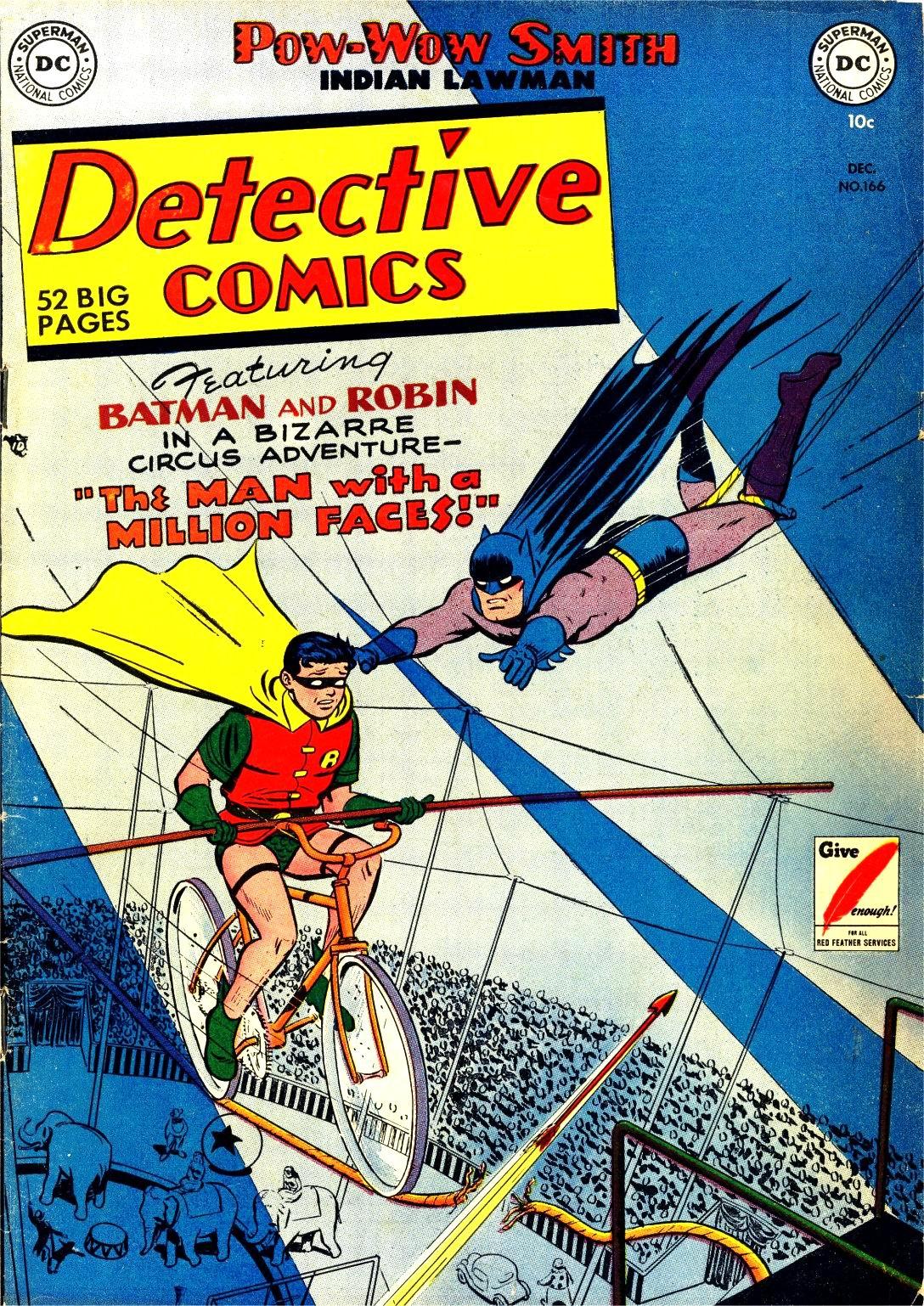 Detective Comics (1937) 166 Page 0